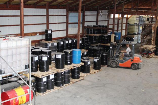 Holmes Oil Distributing Warehouse