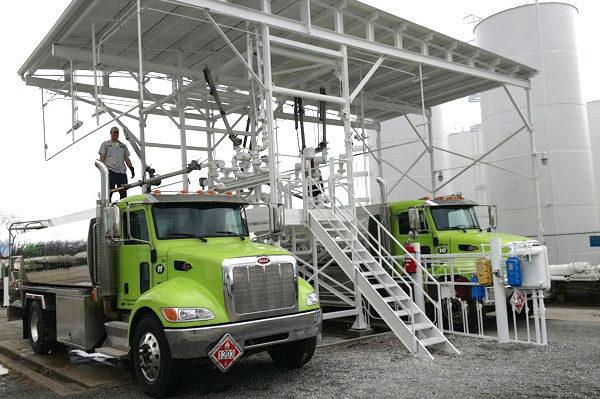 Holmes Oil Distributing Tanker Trucks